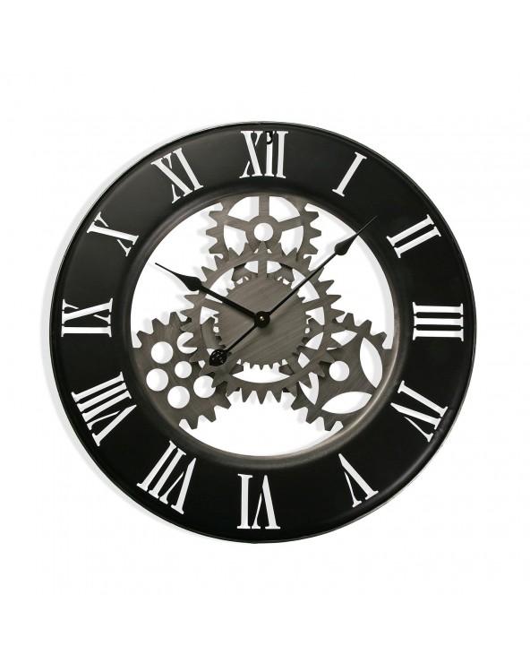 Reloj pared metal 63 cm...