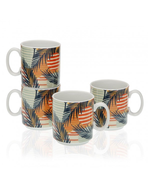 Set 4 mugs saona...