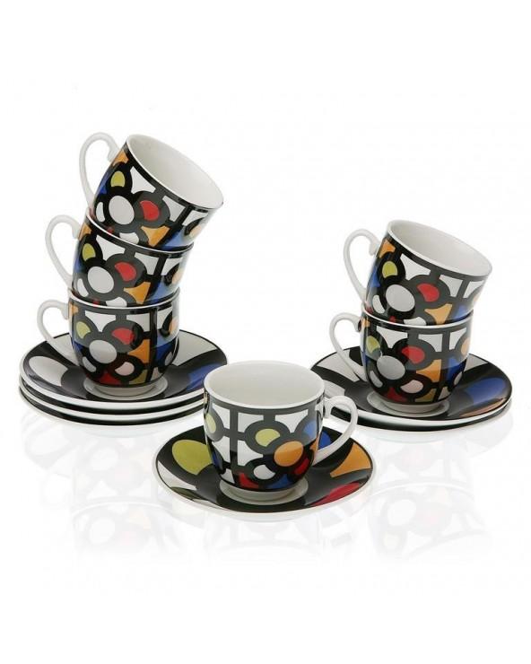 Set 6 tazas café urbana...