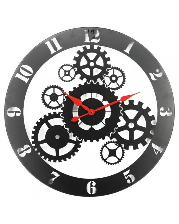 Reloj pared metal 60 cm...