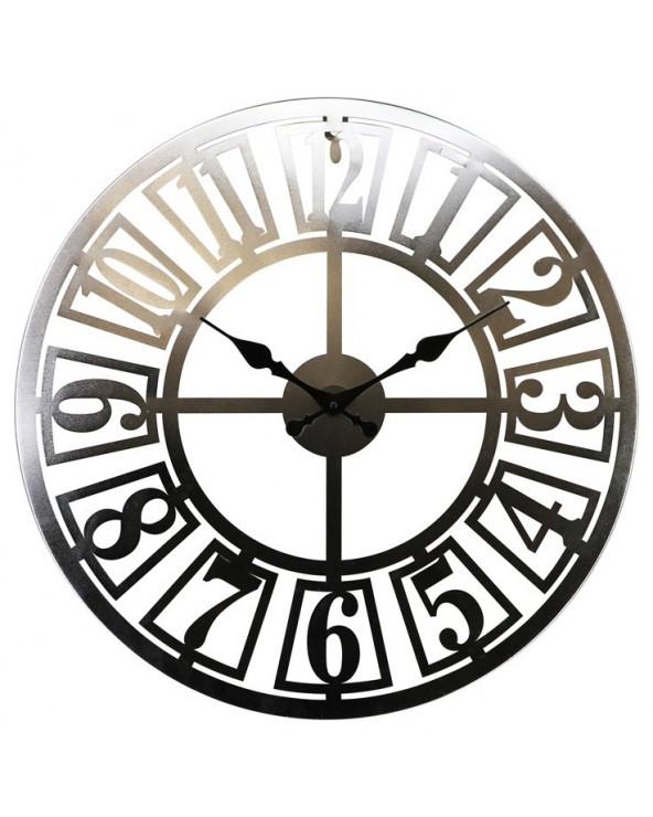 Reloj pared 60x60x3.5 metal...