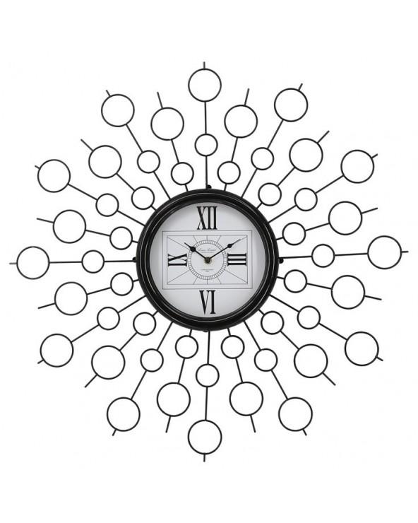 Reloj pared 68x68x6.5 metal...