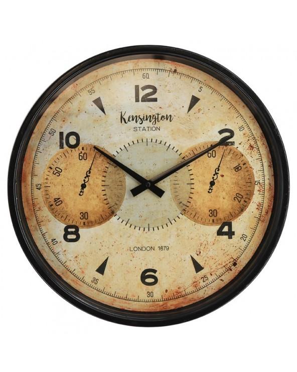 Reloj pared 39x39x5.2 metal...
