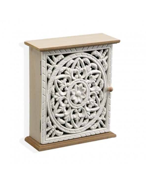 Caja llaves 19x7x21.5 madera