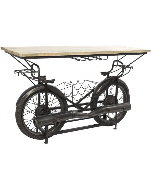 Mueble bar Moto madera...