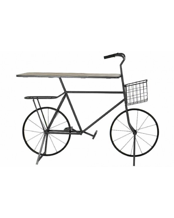 Consola Bici metal negro...
