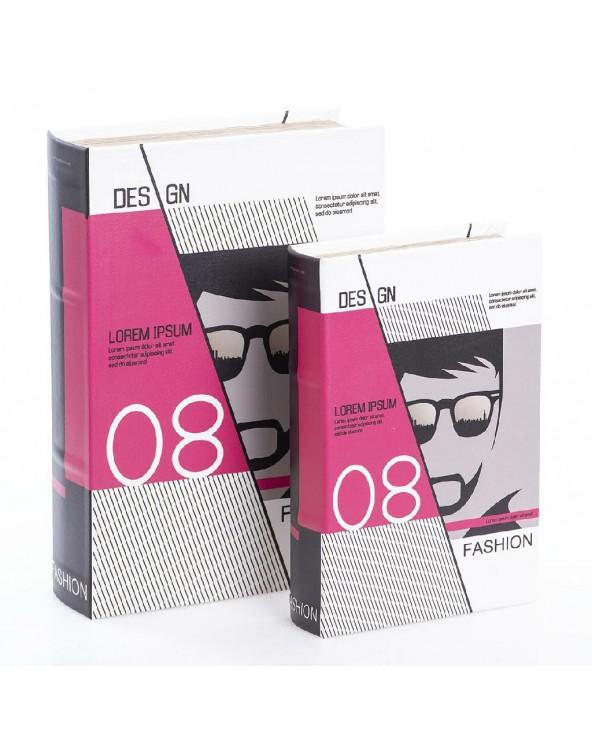 Set 2 cajas libro modelo 1...
