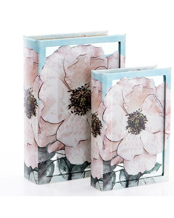 Set 2 cajas libro modelo 29...
