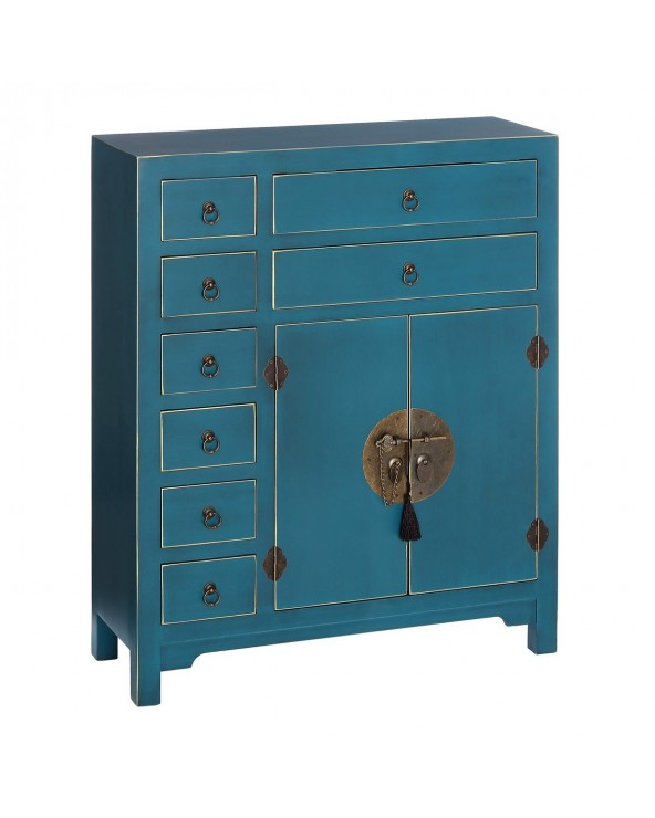 Mueble auxiliar Japan azul...