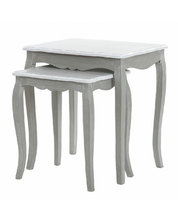 Set 2 mesas Vicenza madera...