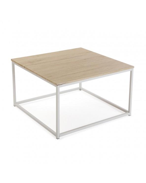 Mesa centro cuadrada madera...