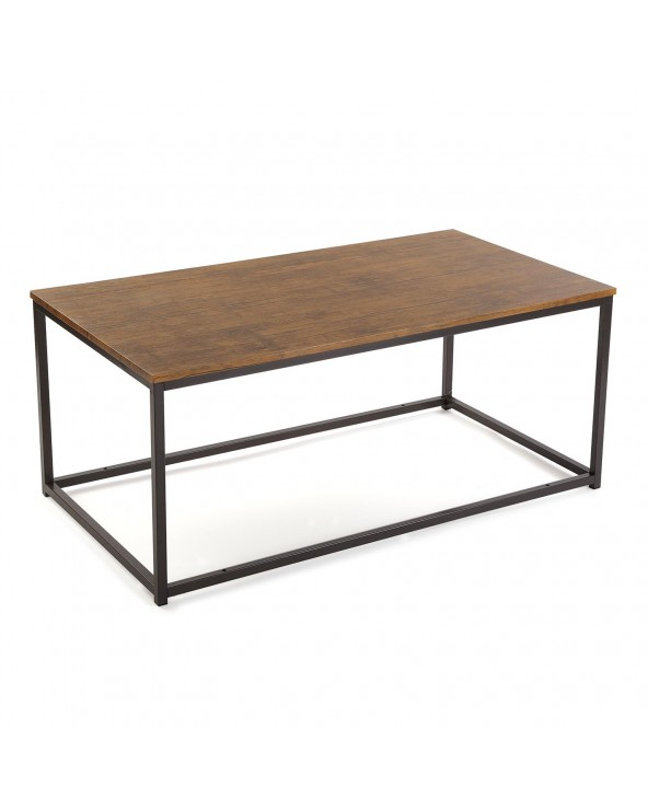 Mesa centro alargada madera...