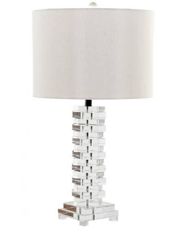 Lámpara de mesa Pontós lino...