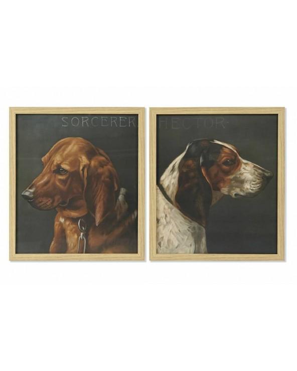Set 2 cuadros Jerez perros...