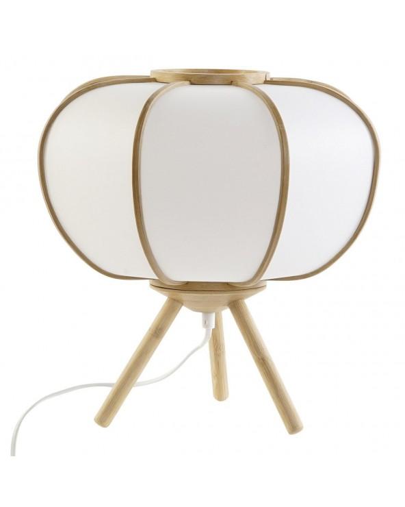 Lámpara de mesa Vilde bambú...