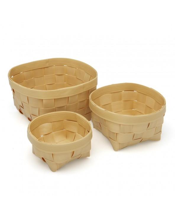 Set tres cestas redondas...