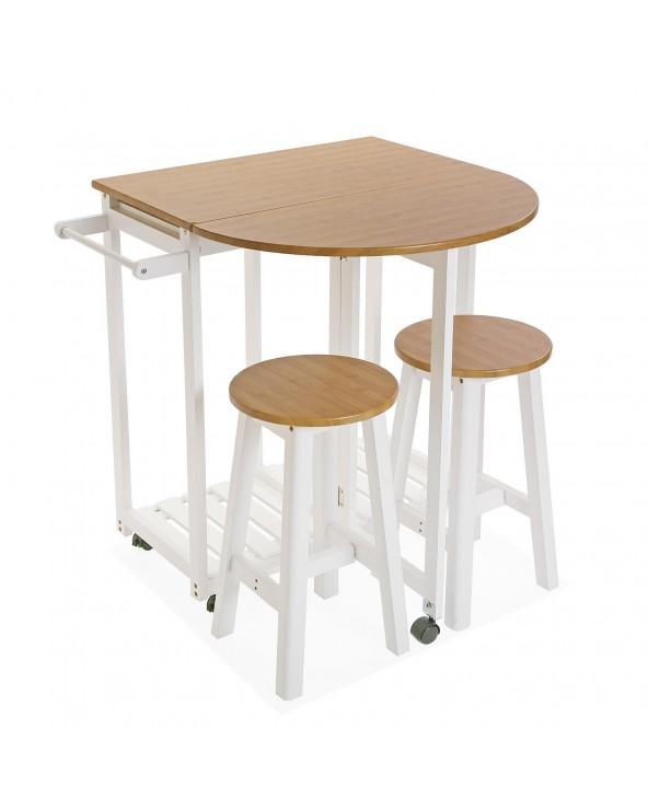 Set mesa 2 taburetes...