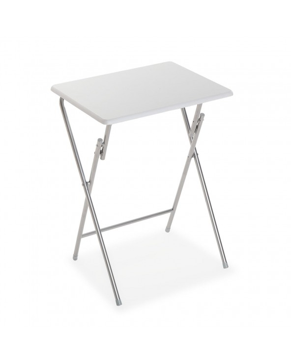 Mesa plegable blanca...