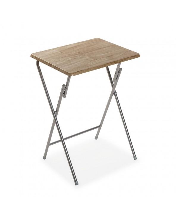Mesa plegable madera clara...