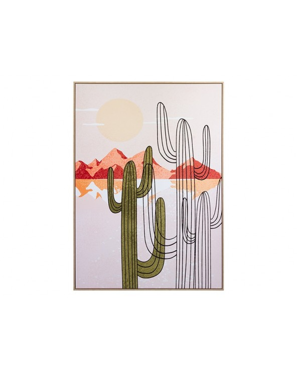 Cuadro cactus lienzo  de...