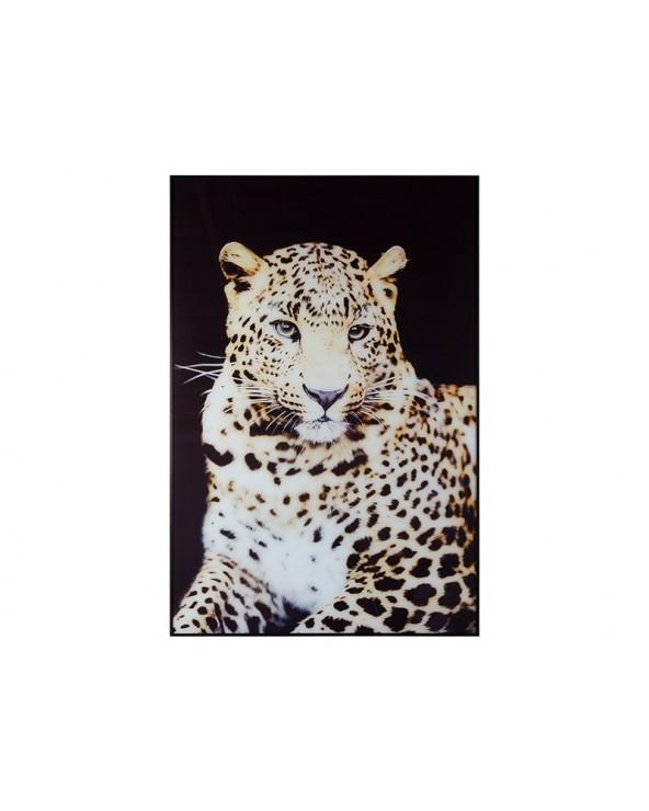 Cuadro leopardo lienzo de...