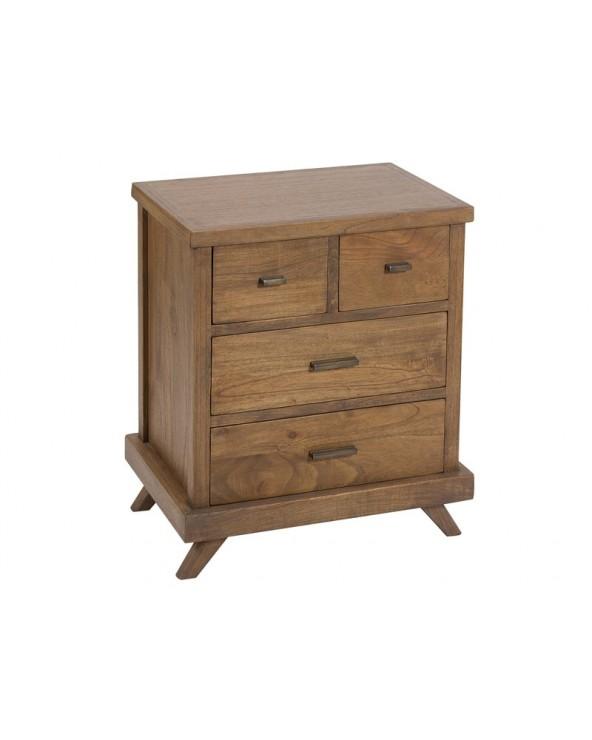 Mesa de noche Amara madera...