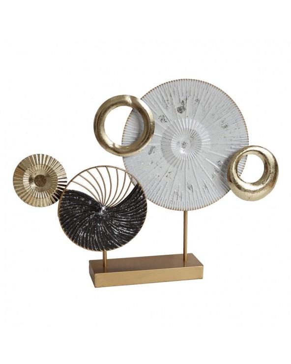 Figura metal decoración...