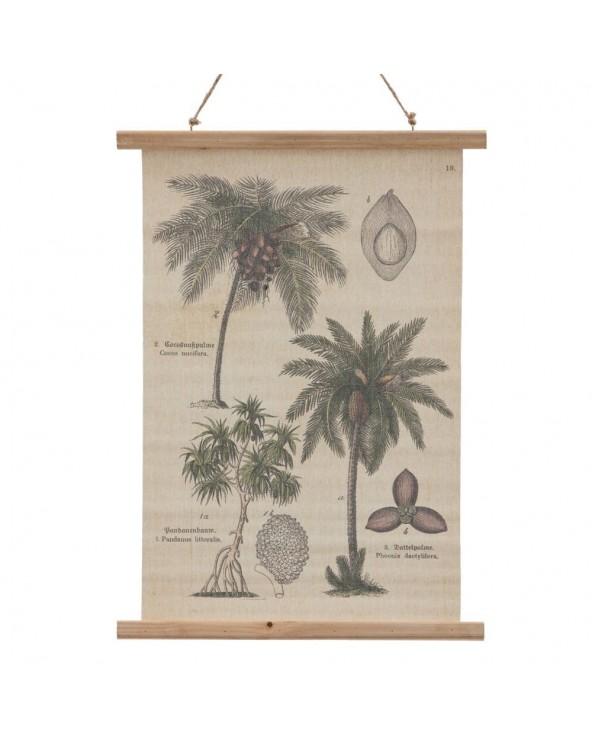 Pergamino palmeras...