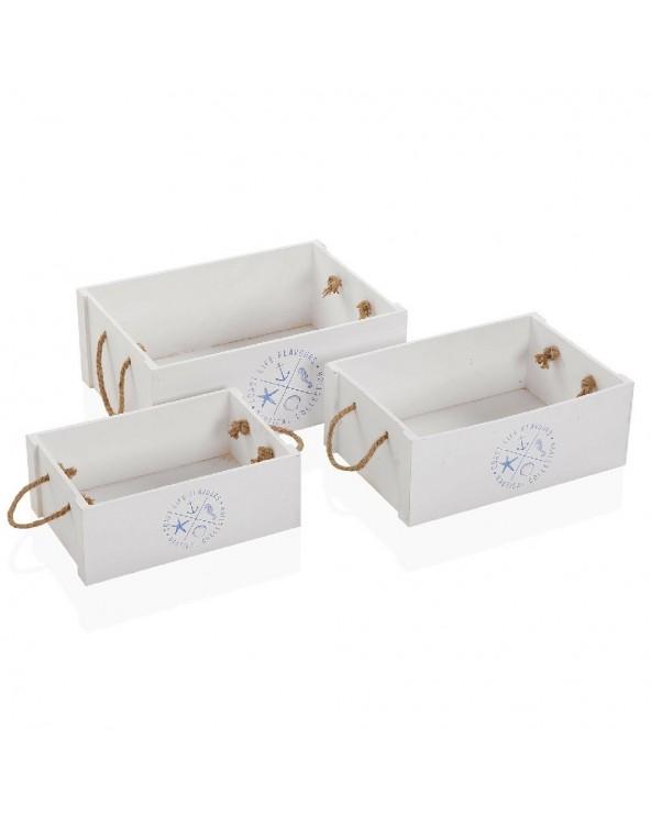 Set de 3 cajas Náutica...