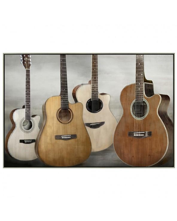 Cuadro enmarcado Guitarras...