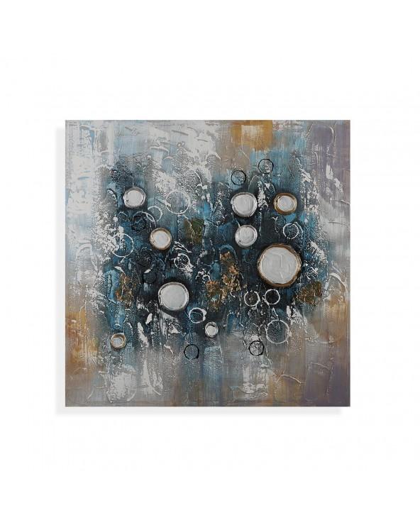 Cuadro abstracto círculos...