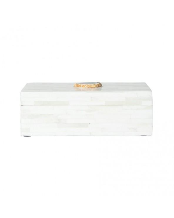 Caja hueso blanco 23x15x8...